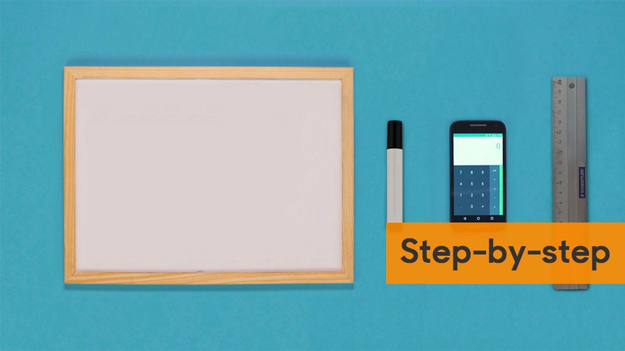 Whiteboard pen calculator and ruler