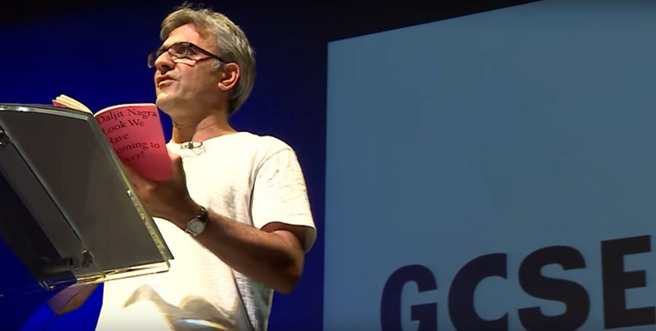 Daljit Nagra performs In a White Town