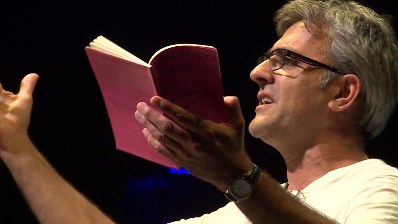 English Literature KS4 / GCSE: Daljit Nagra performs Darling and Me