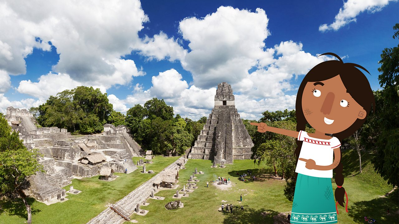 Jade showing you the ancient city of Tikal.