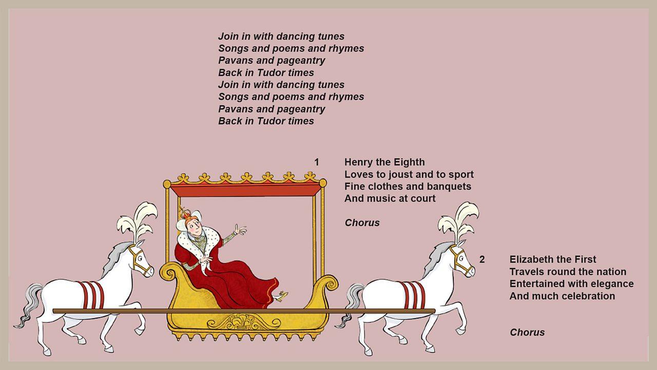 Lyrics - Pavans and pageantry