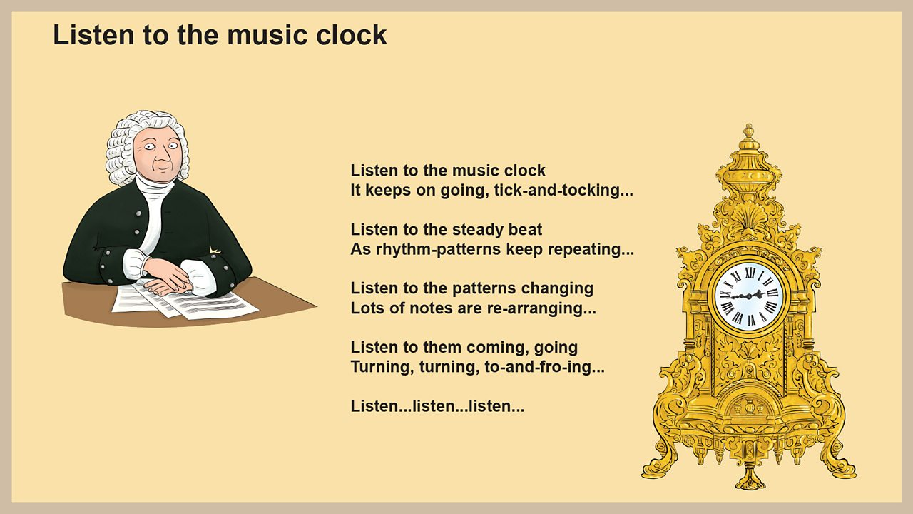 Lyrics - Listen to the music clock