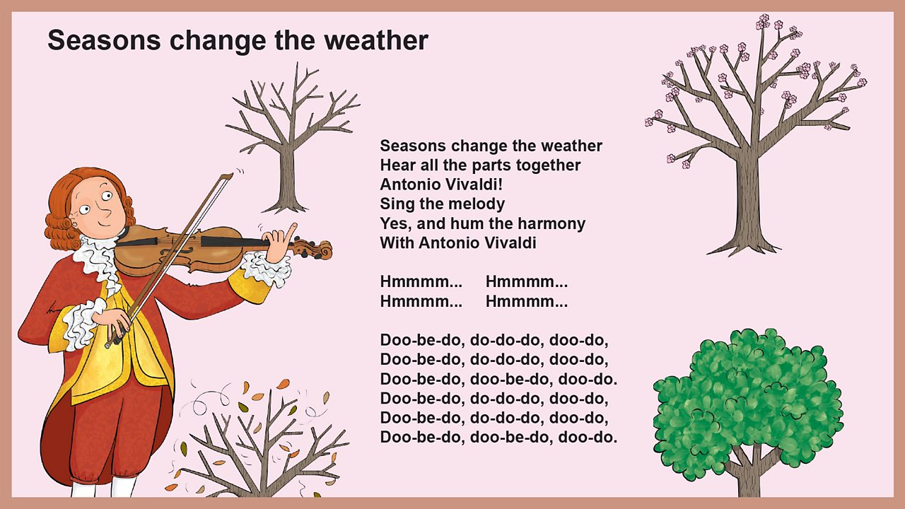 Lyrics - Seasons change the weather