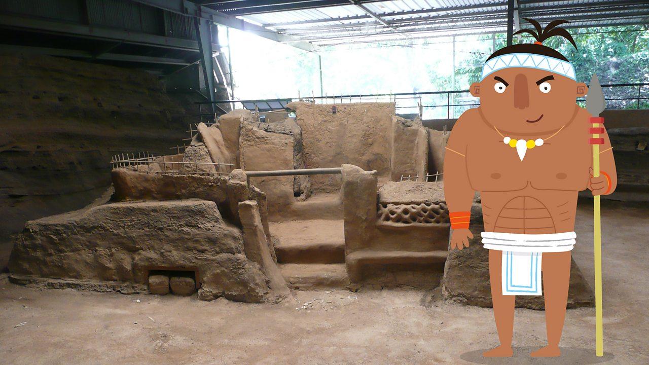 Ancient maya remains in Joya de ceren.