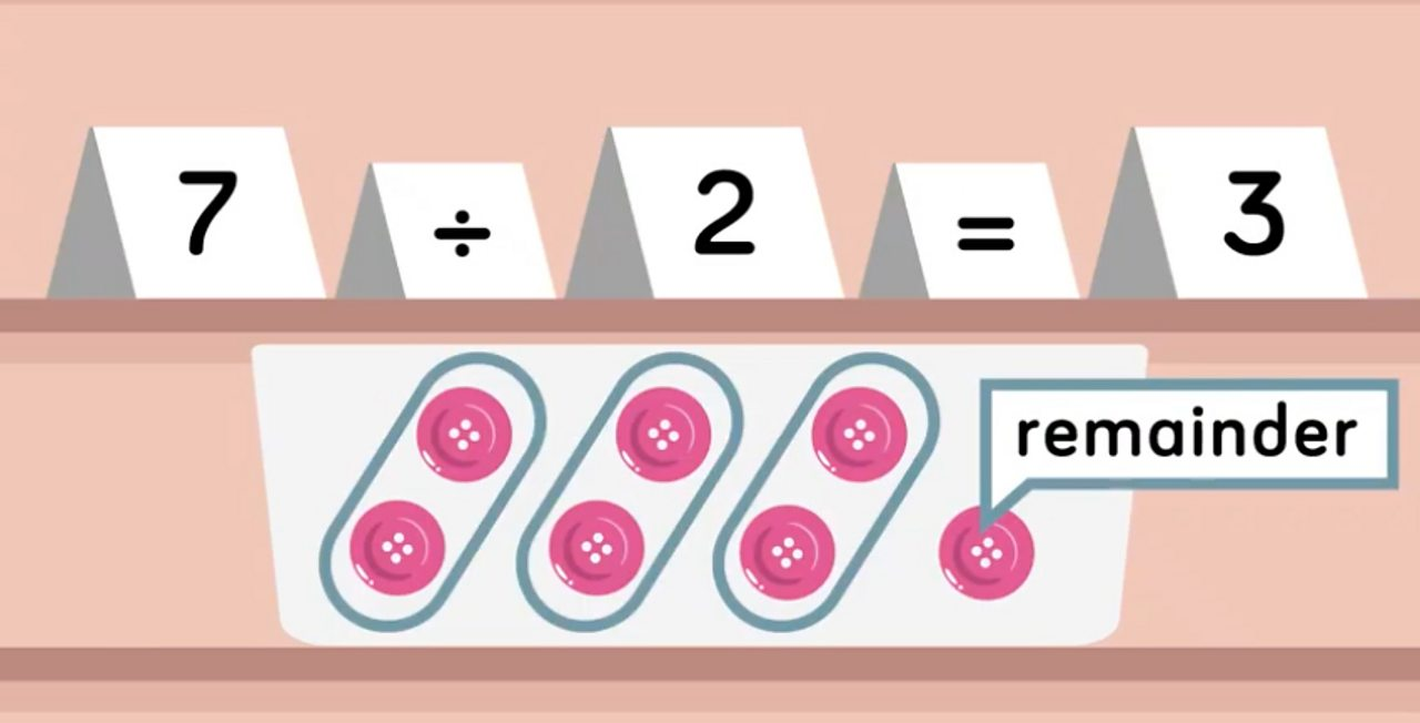 How to work out division with remainders - BBC Bitesize