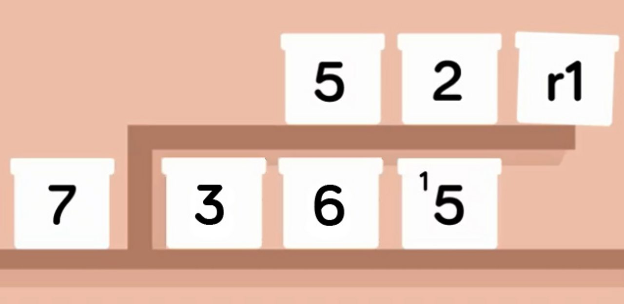 7 divided by 365 equals 52 remainder 1