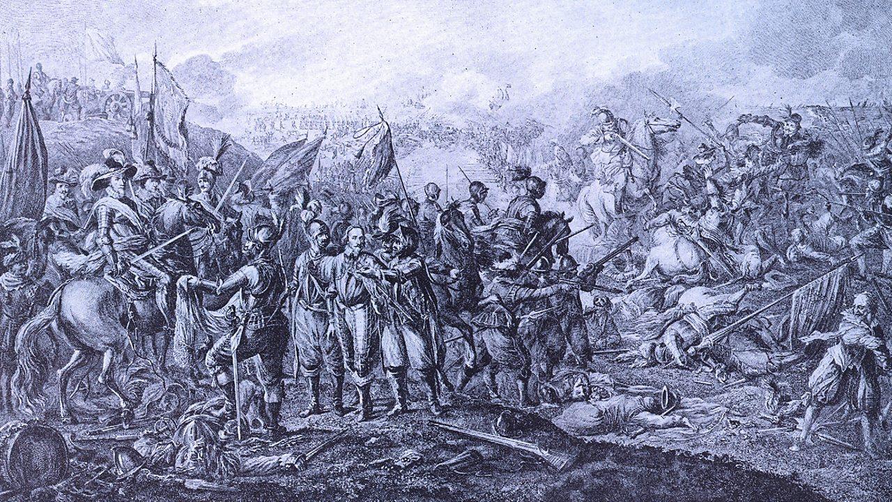 Illustration of the Battle of Nieuwpoort