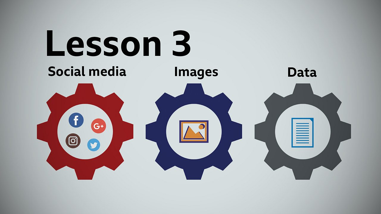 Lesson 3: Social media, images and data