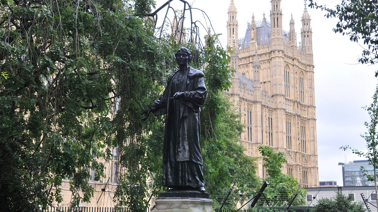 The Emmeline Pankhurst state in London