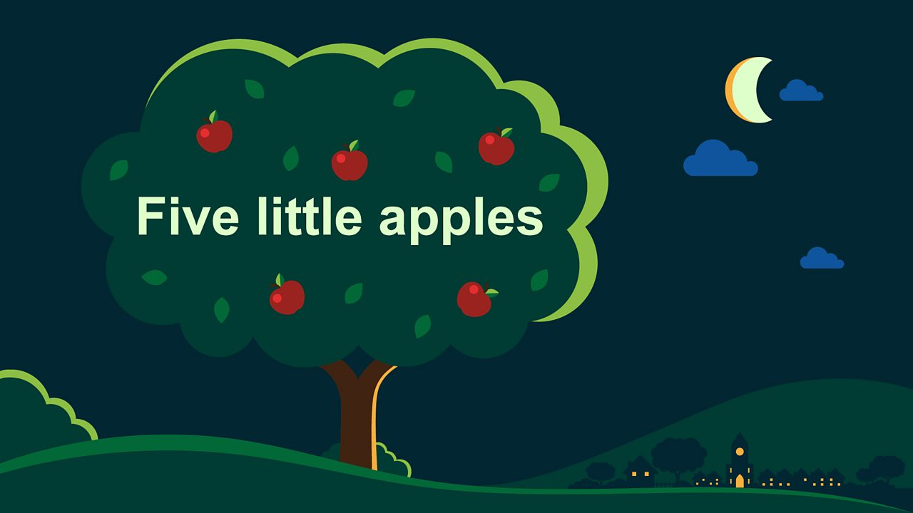 Five little apples