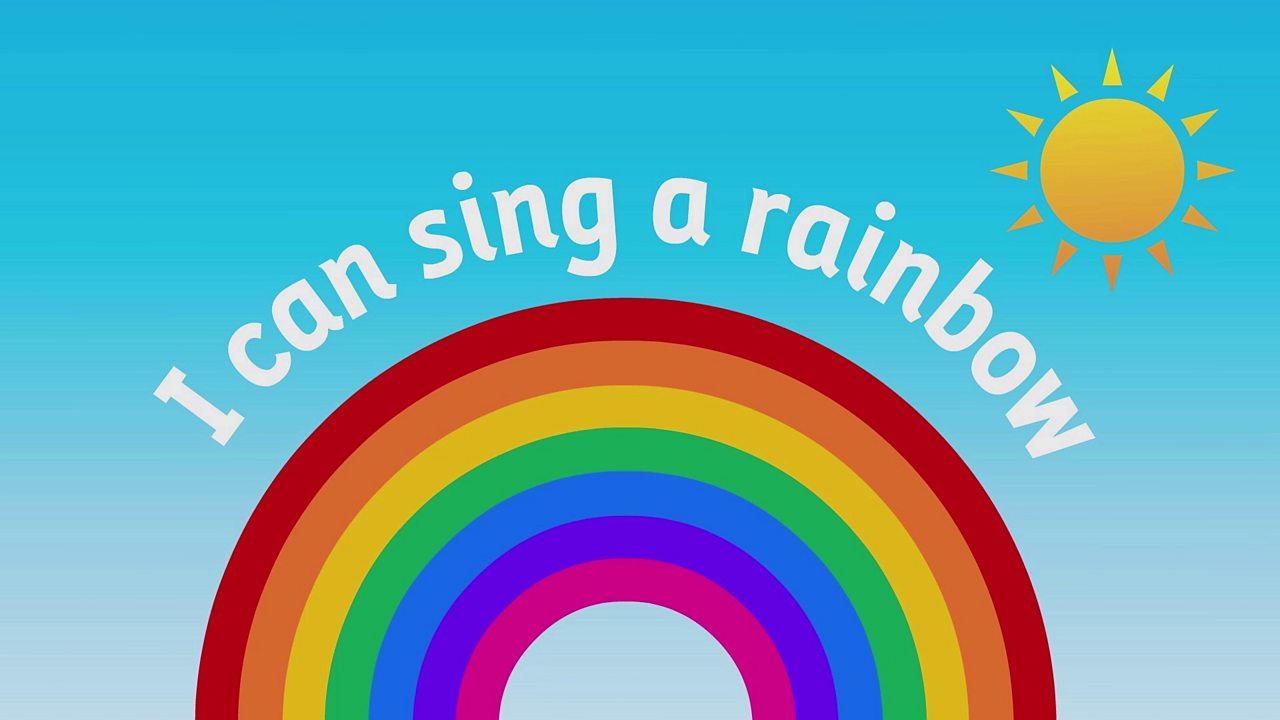 I can sing a rainbow - BBC Teach