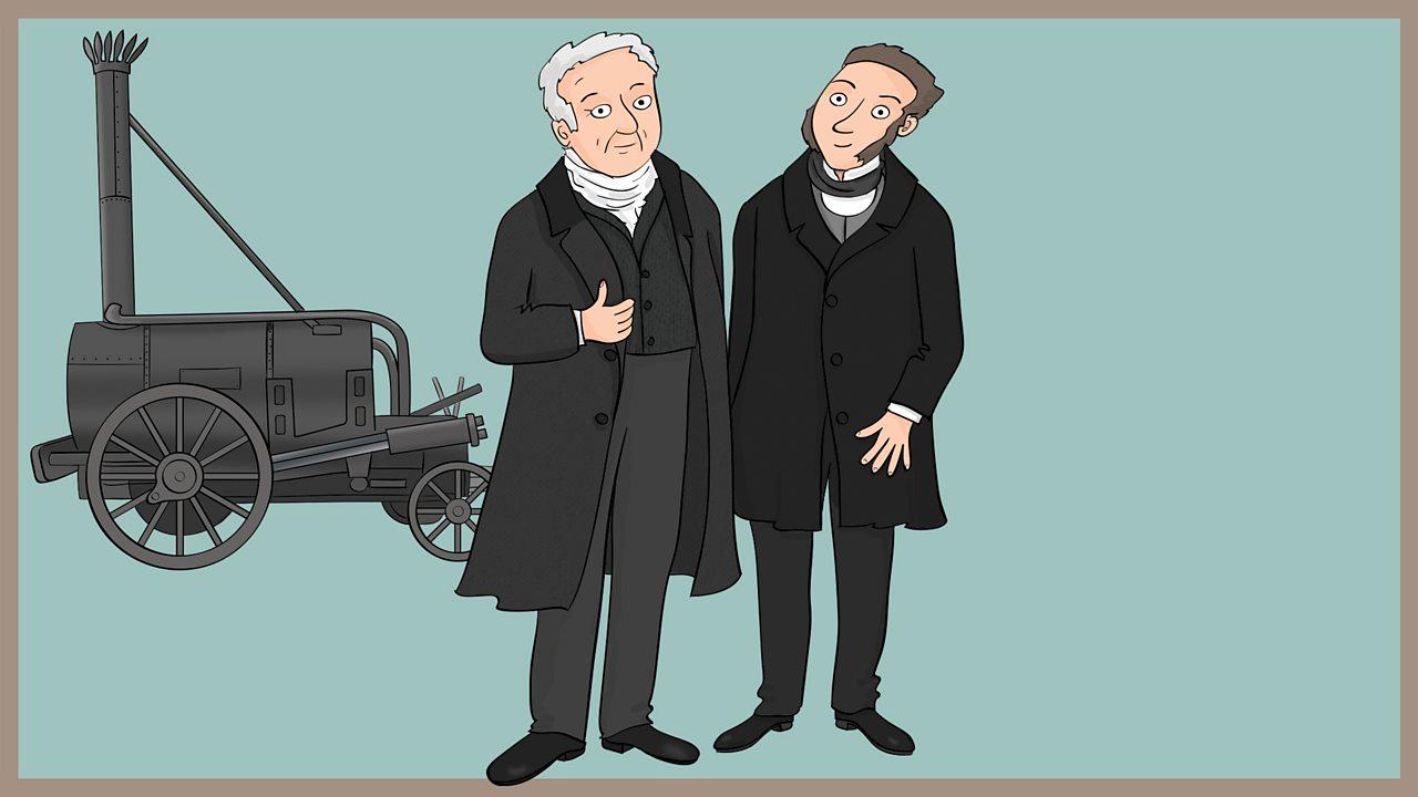 George and Robert Stephenson (1781 - 1848 and 1803 - 1859)