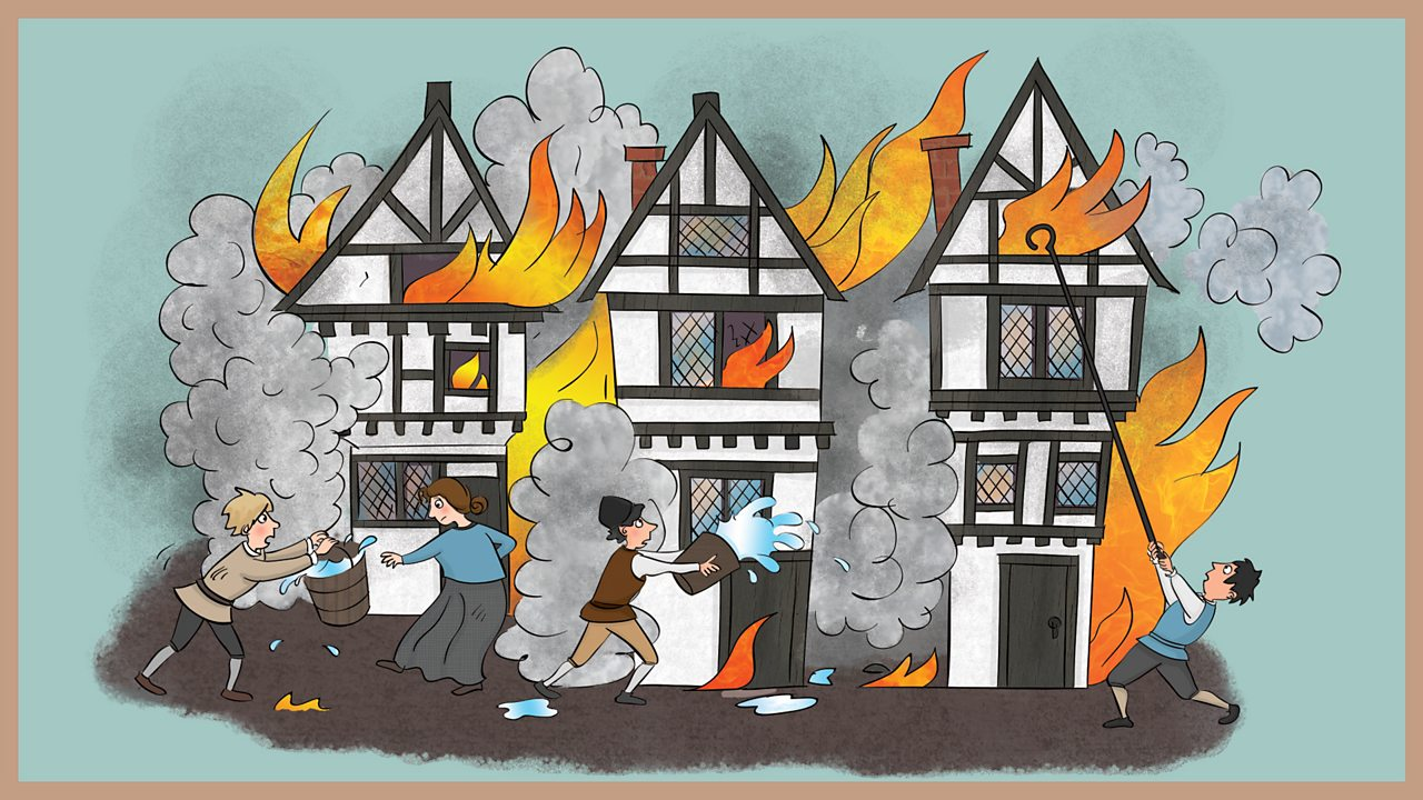 4. Samuel Pepys and The Great Fire of London - part 2 - BBC Teach