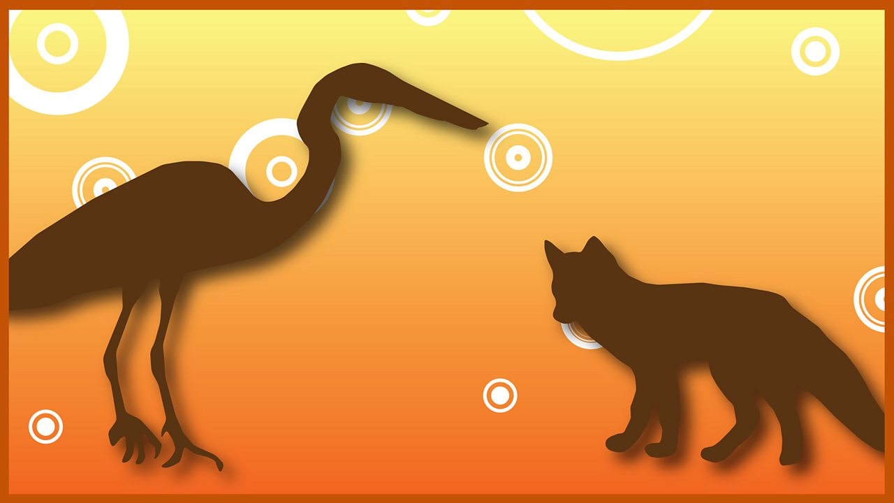 22. The Fox and the Stork