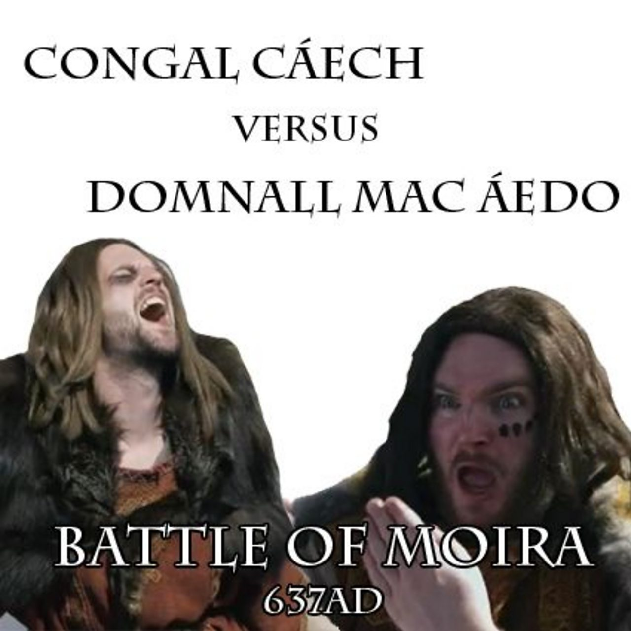 A poster for the Battle of Moira
