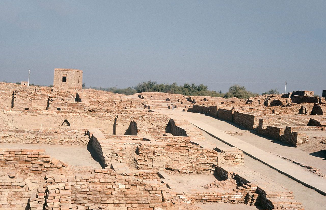 The 'skeleton room' at Mohenjo-Daro