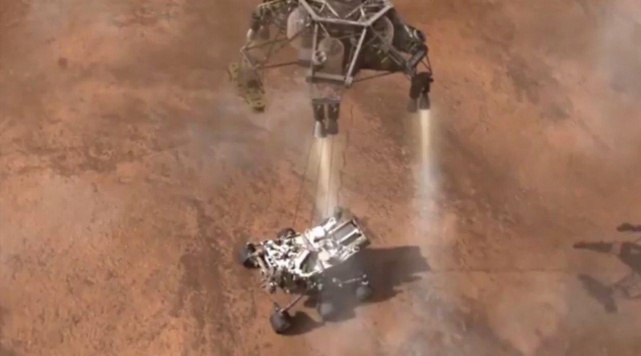 Landing a human on Mars