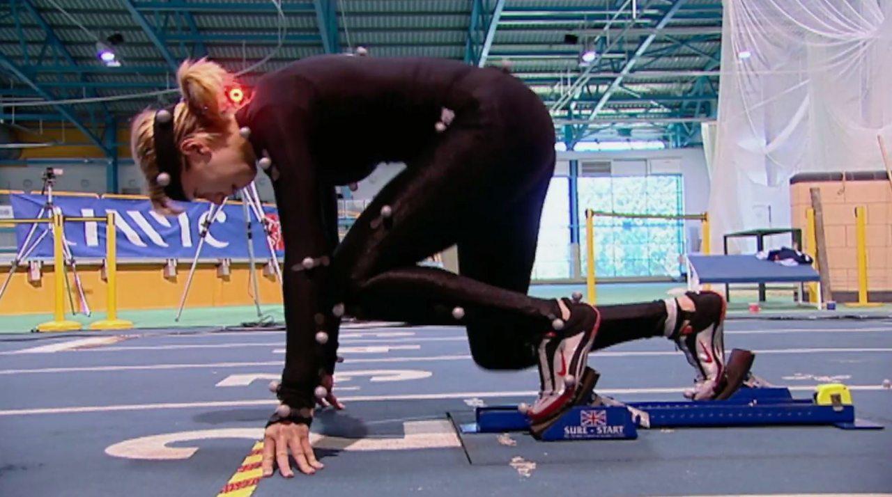 Bio-mechanical analysis in sprinting