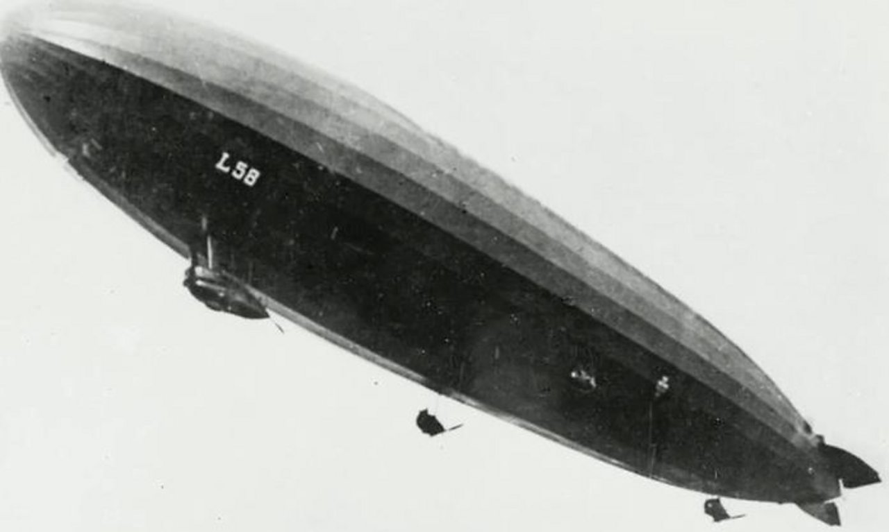 How did Britain deal with the Zeppelin threat during World War One?