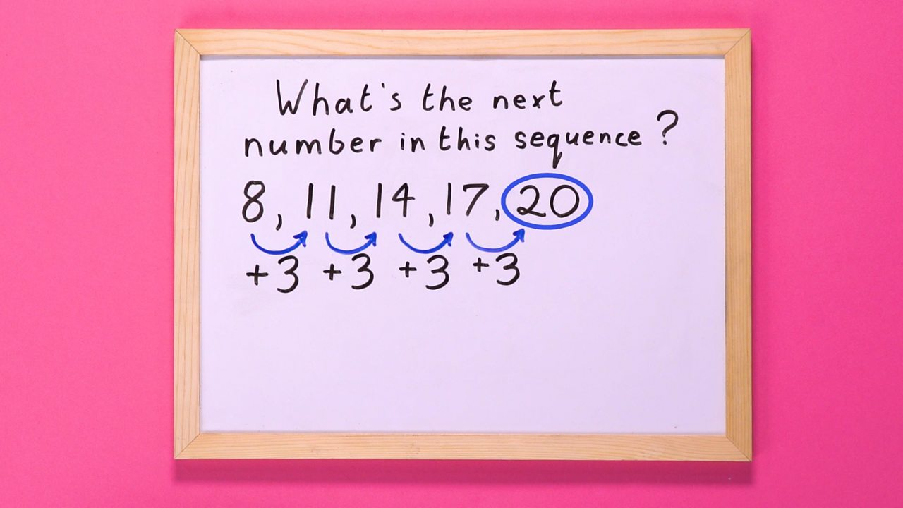 Use the common difference to find the next number in the sequence.