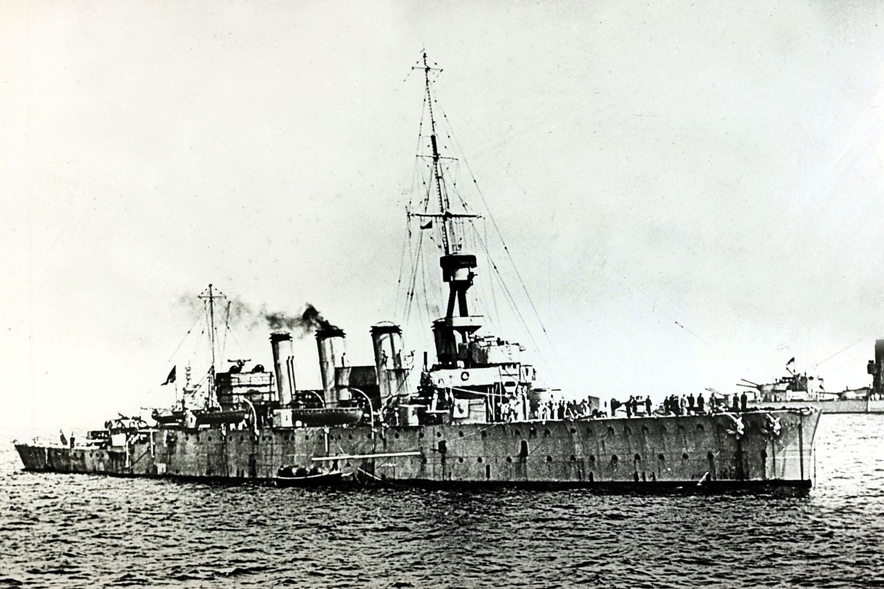 An image of the HMS Chester