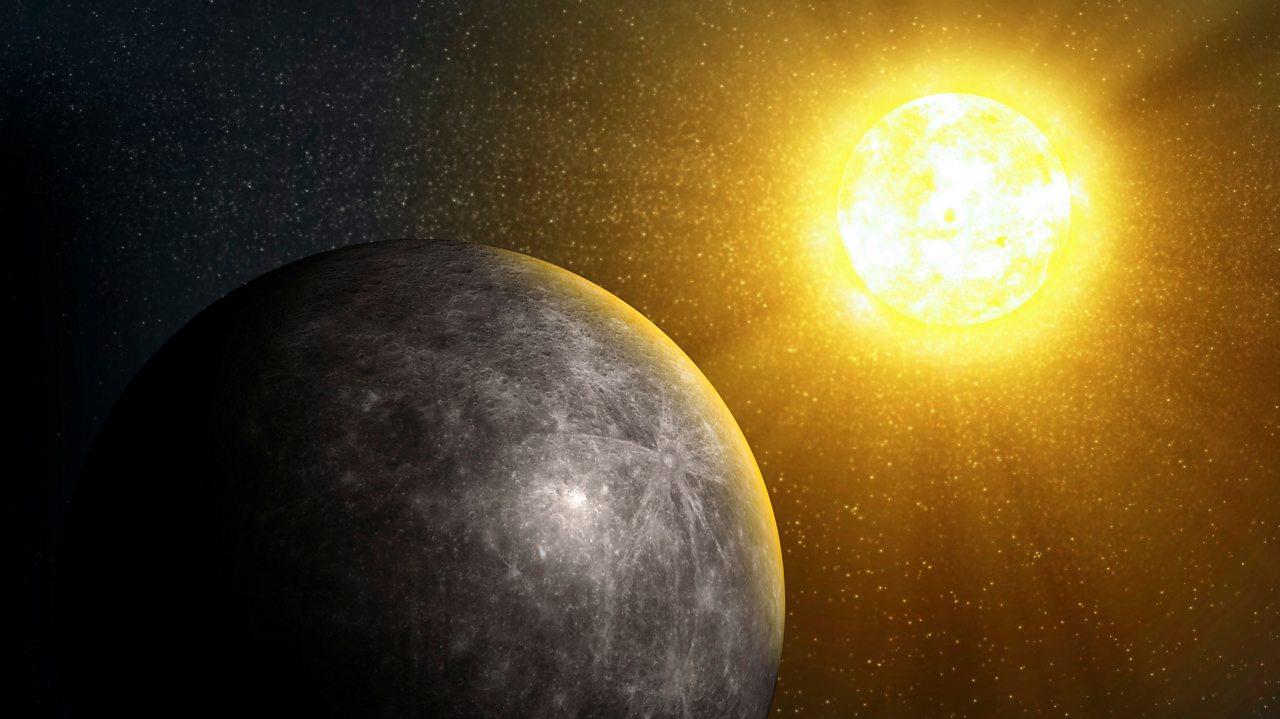 An artist's impression of Mercury.