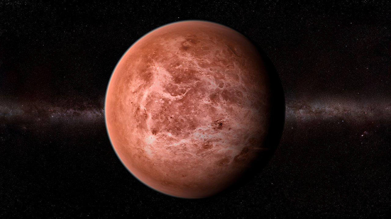An artist's impression of Venus.