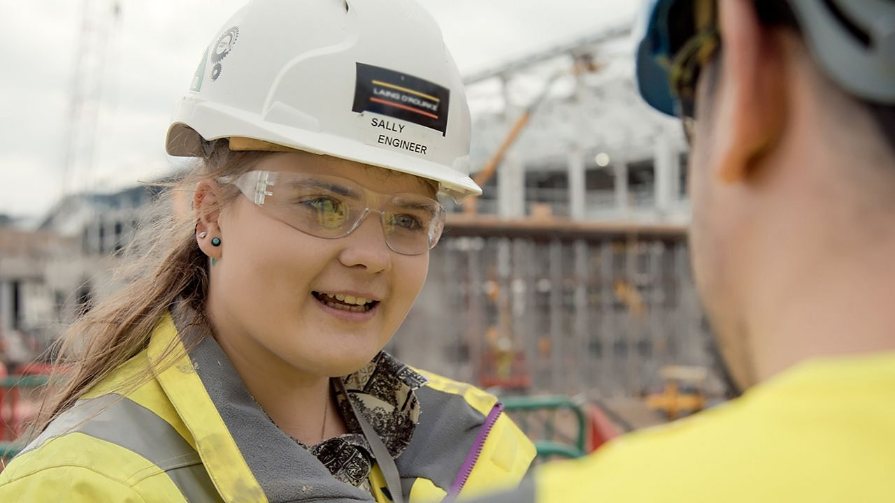 Sally: civil engineer technician