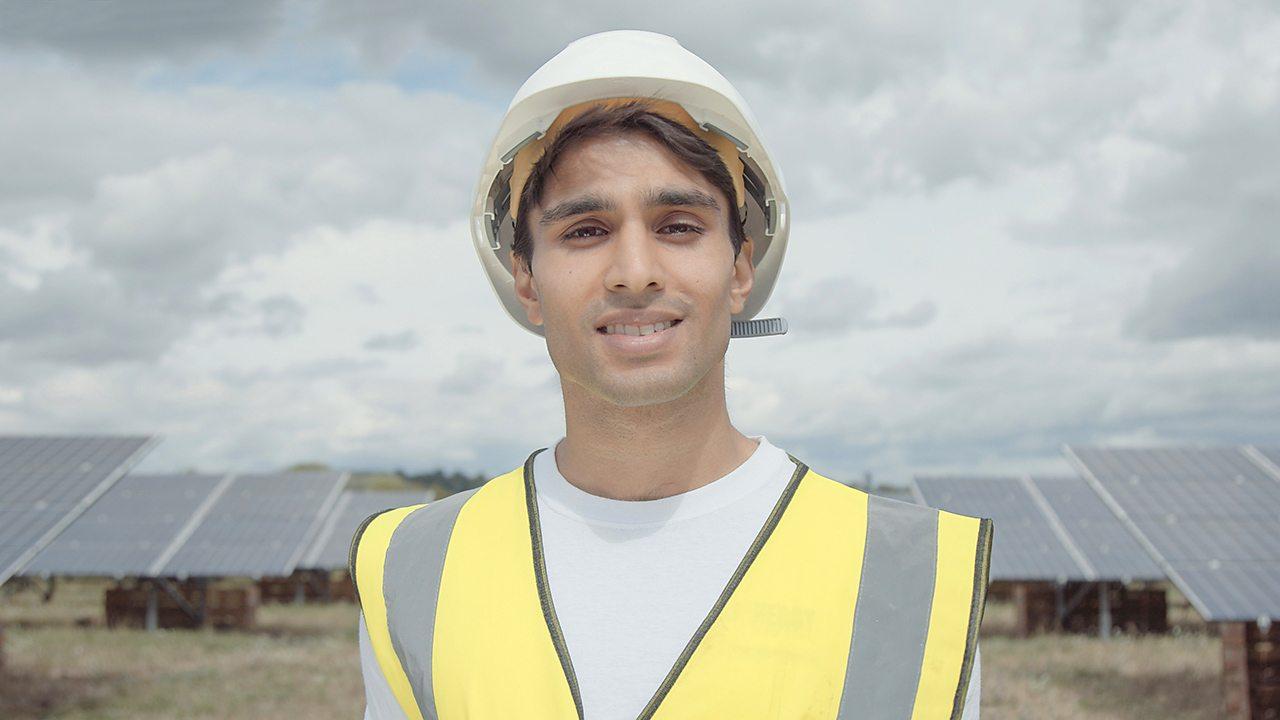 Manish: solar farm manager