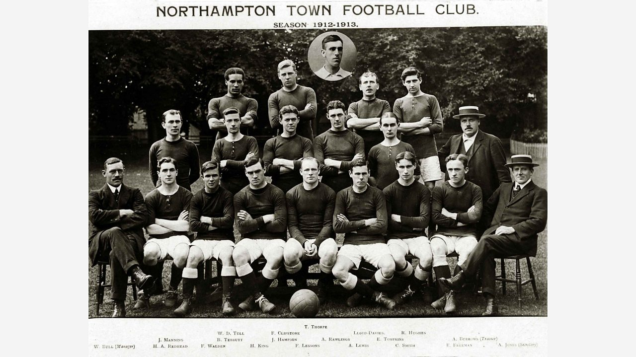 Northampton Town Football club team photo