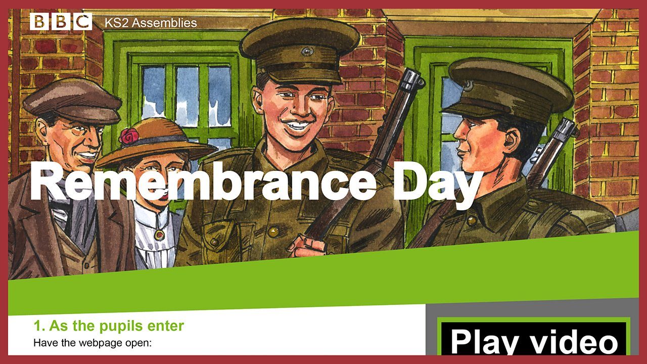 School Radio - Remembrance Day KS2 Assembly Pack