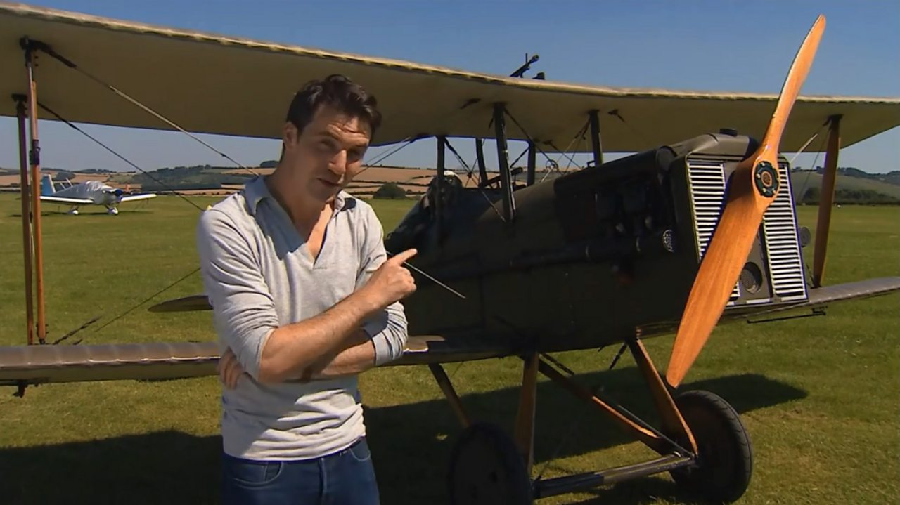 How did the Royal Flying Corps contribute to World War One?