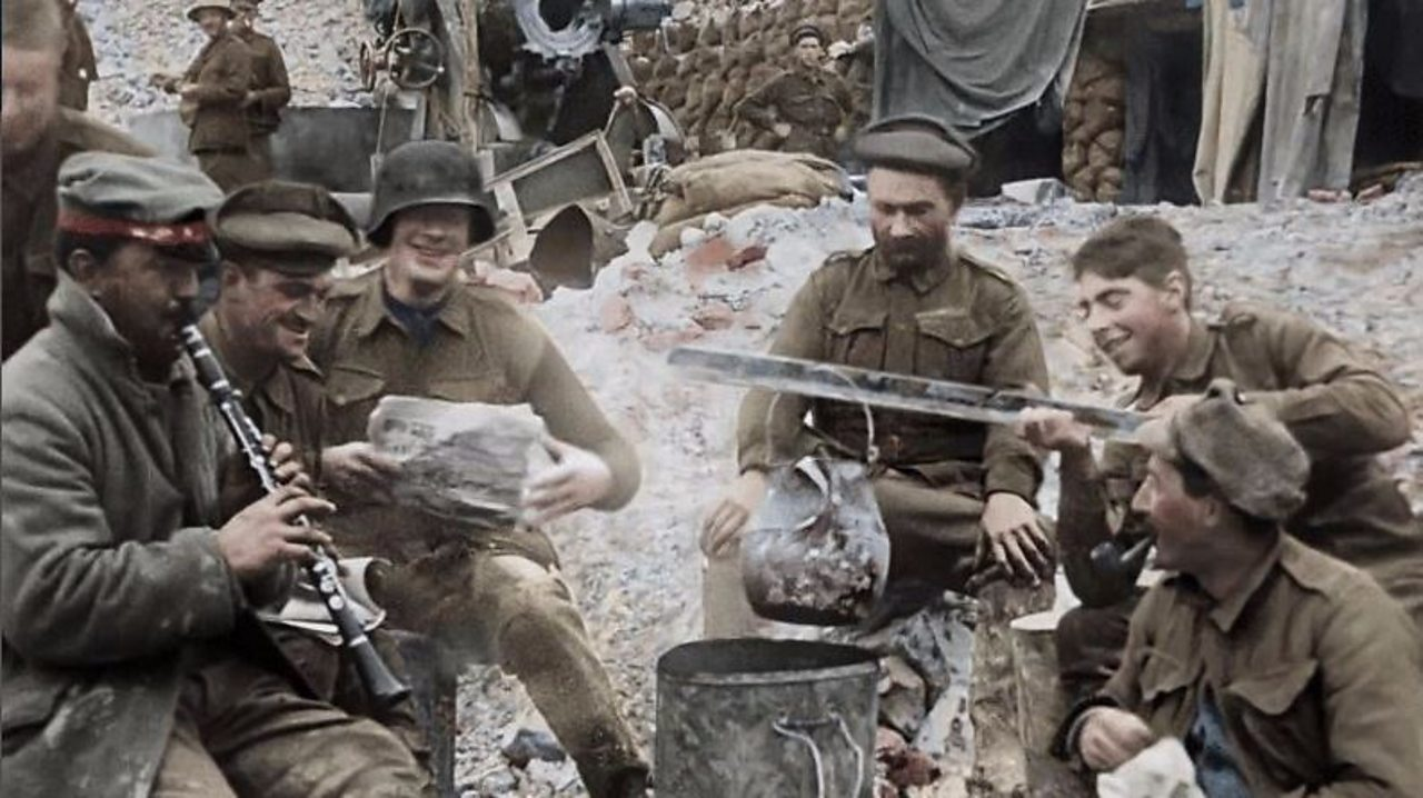 They Shall Not Grow Old - First World War resources for teaching English language