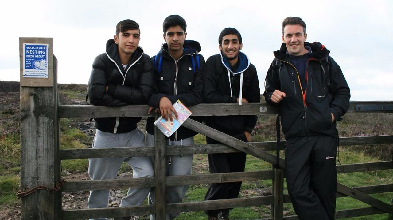 Map reading challenge on the moors