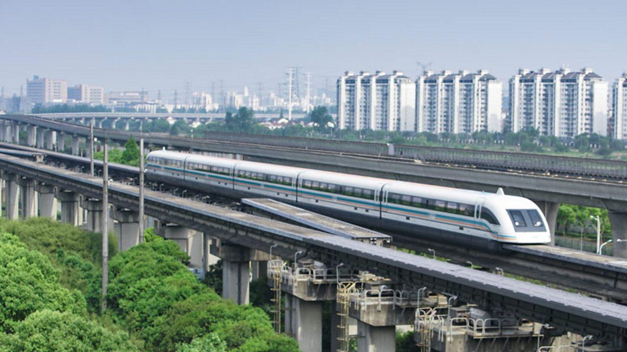 A high speed train in Shanghai