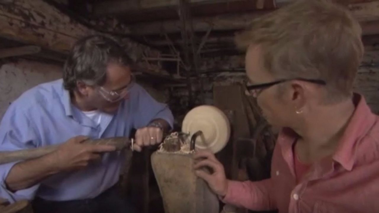 The craft of woodturning