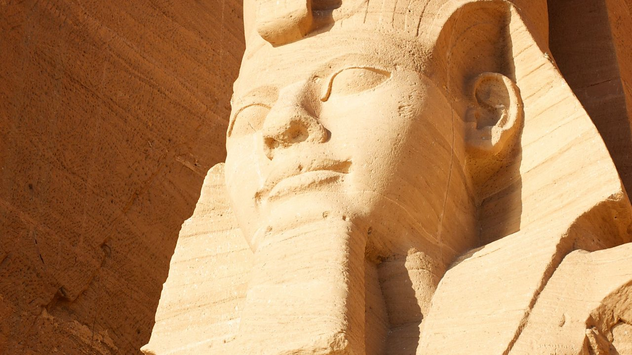 Pharaoh Ramesses II of Egypt