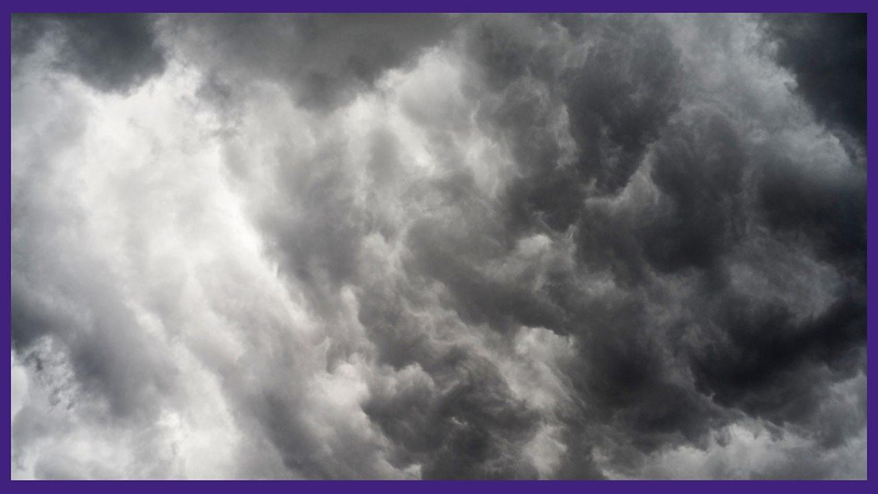 1. Earth, wind and big, black clouds