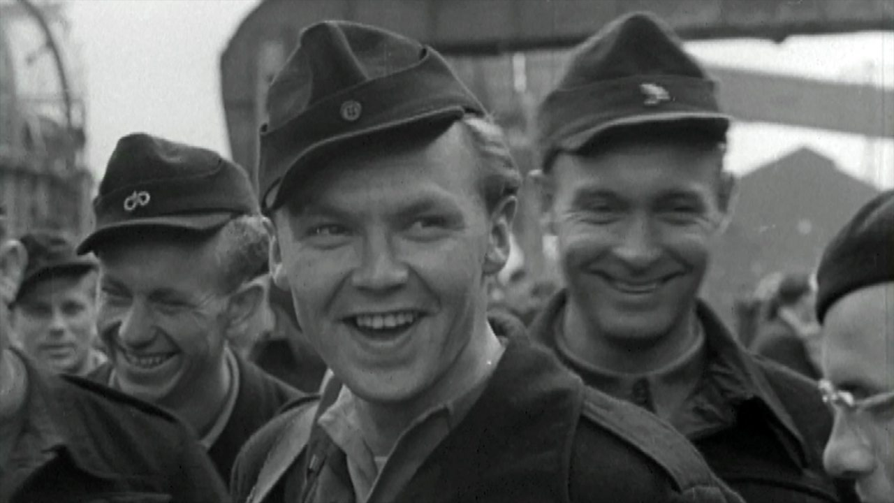 Last PoWs leave UK for Germany, 1948