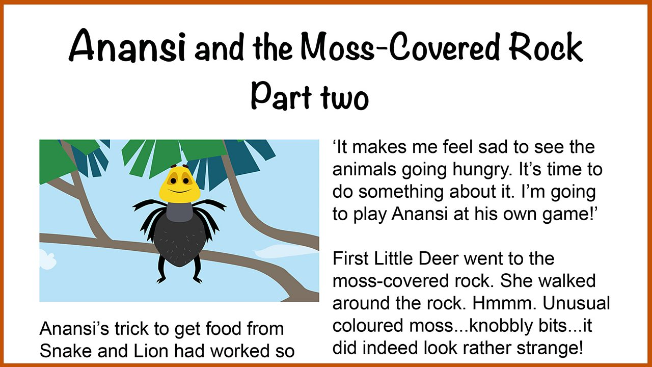 Resource Sheet 8: Illustrated text of Part 2