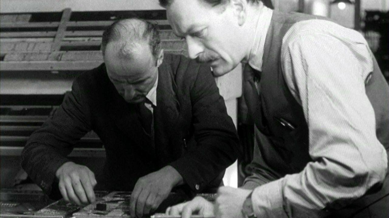 Birth of a newspaper, 1950