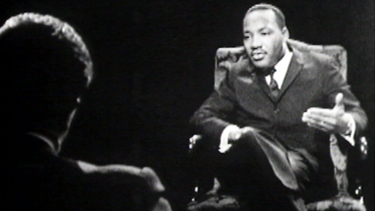 Martin Luther King interview, 1961