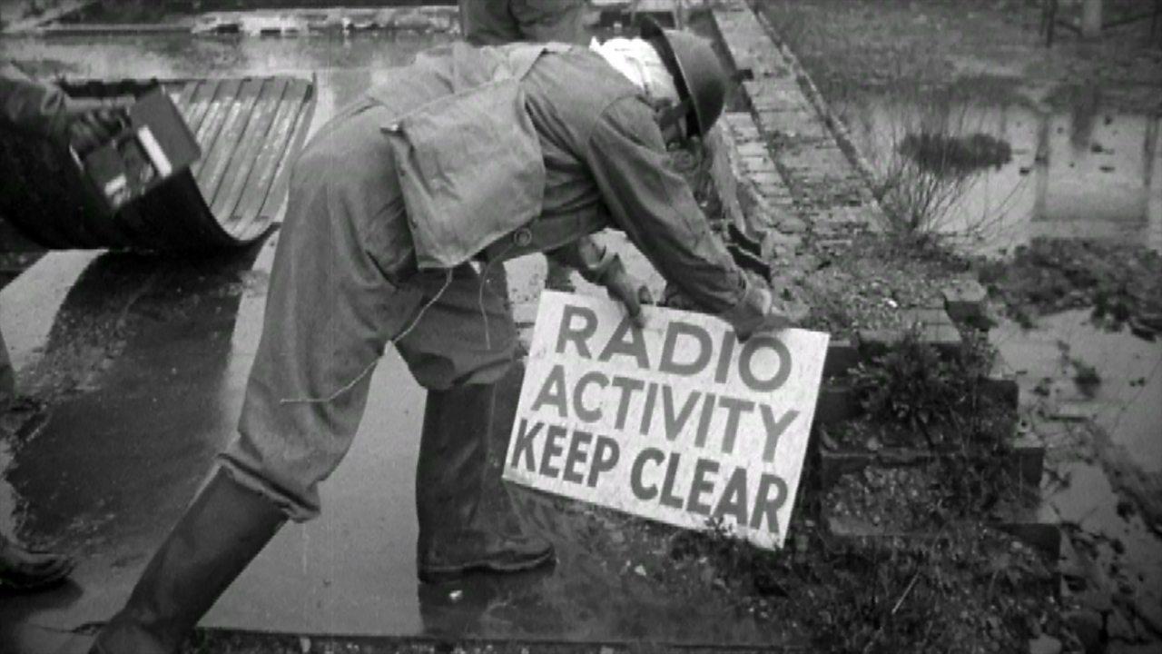 Atomic bomb drill in Bristol, 1951