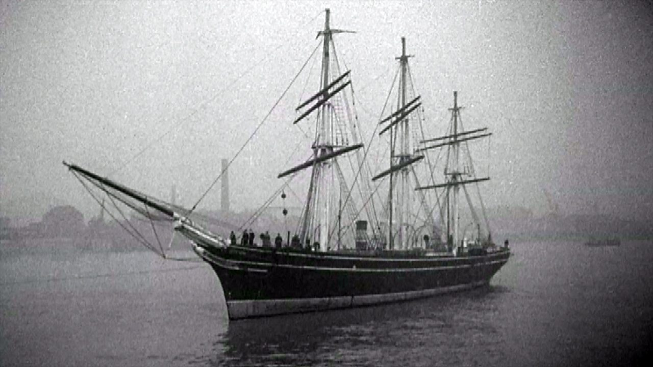 Cutty Sark - last of the tea clippers, 1951