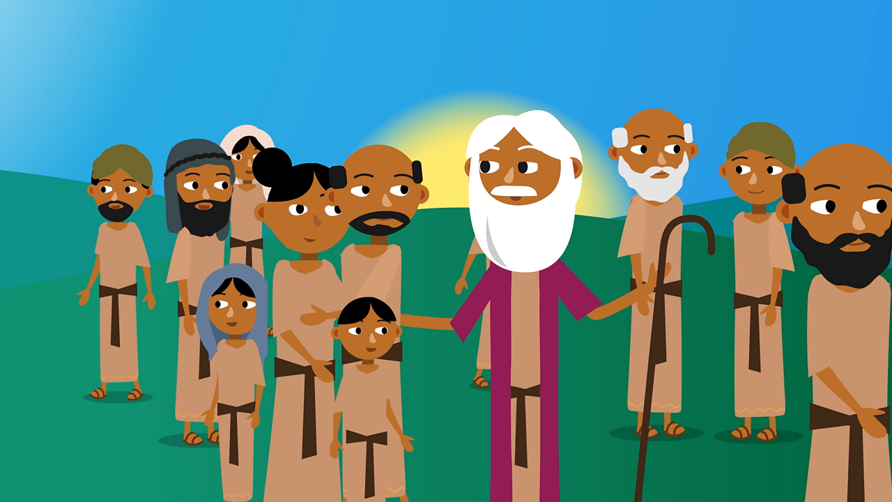 After this, Moses led the Israelites out of Egypt and through the desert to Mount Sinai, where God revealed the Ten Commandments.