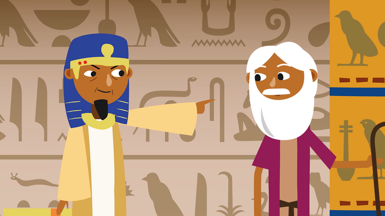 After this, the pharaoh gave in and told Moses and his people to go at once.