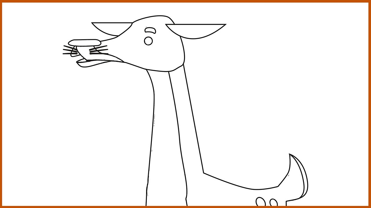 Resource Sheet 15: Outline drawing of Little Deer
