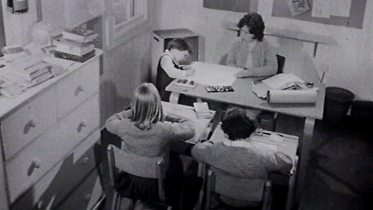 The smallest school in Britain, 1974