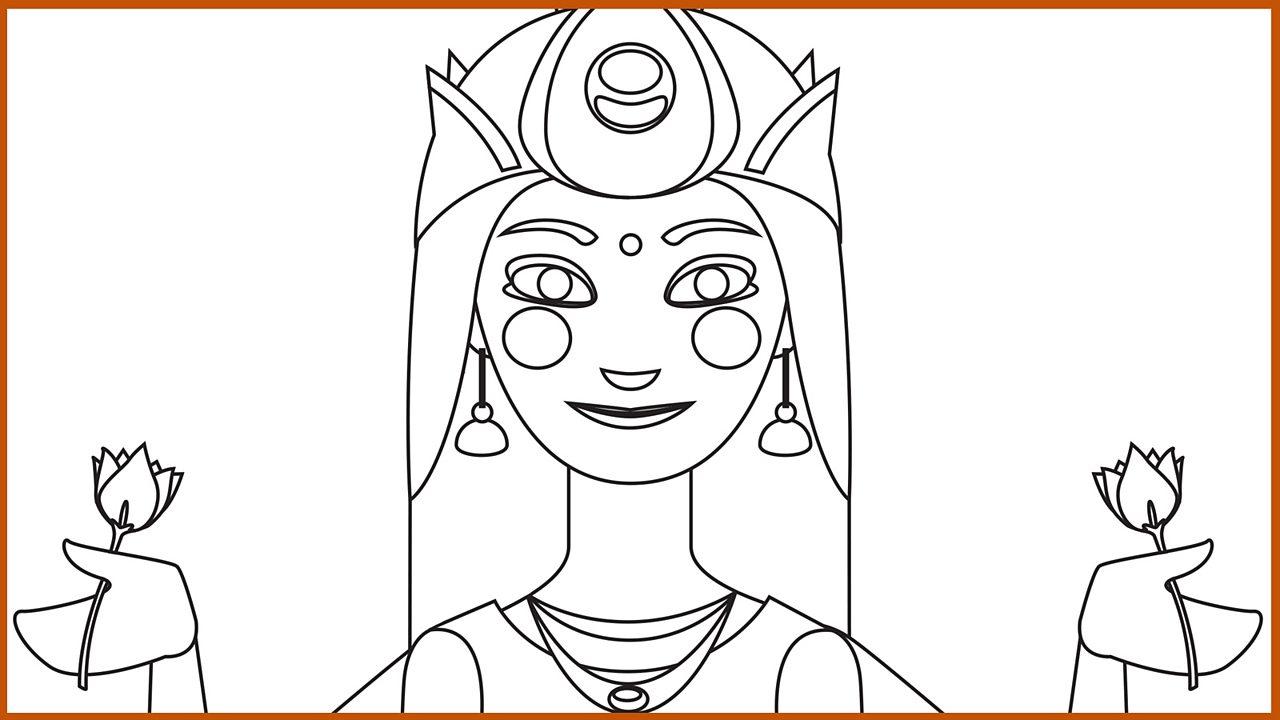 Resource Sheet 12: Outline drawing of Lakshmi