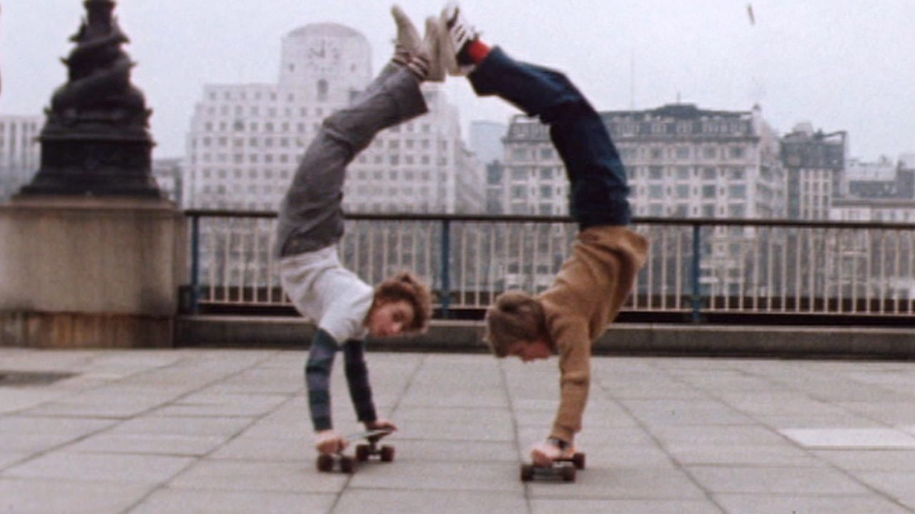 The skateboarding craze, 1977